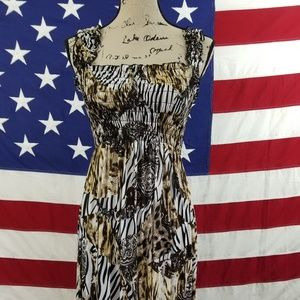 Dresses & Skirts - Animal Print Zebra Tiger Cheetah Paisley L/XL